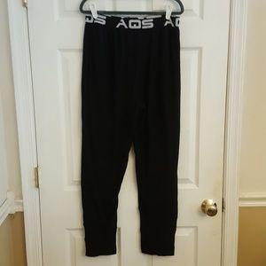 AQS Black Red White 3 Bundle Soft Lounge Pants